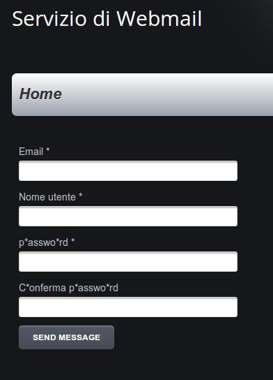 phishing-Servizio di Webmail