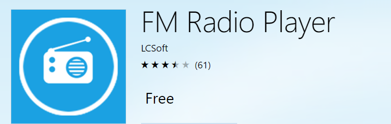 fm radio player