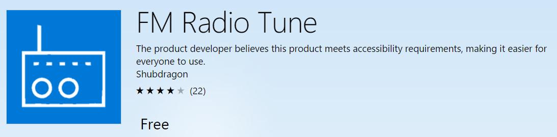 FM Radio tune
