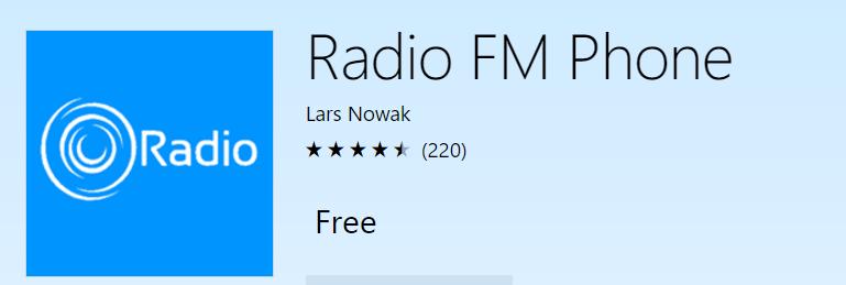 radio fm phone